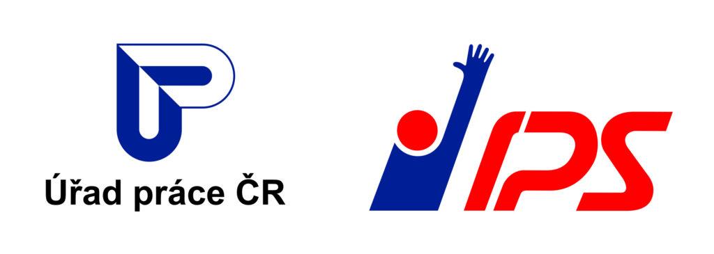 Logo ÚP ČR + IPS, zdroj: logomanuál ÚP ČR
